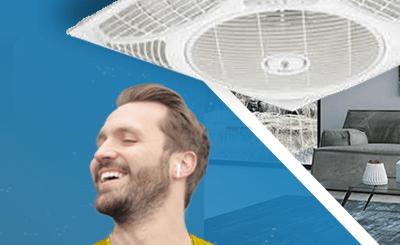 ventilador techo barato